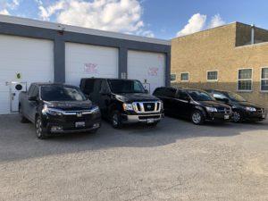 Picture of Winnipeg Funeral Transfer Services Fleet